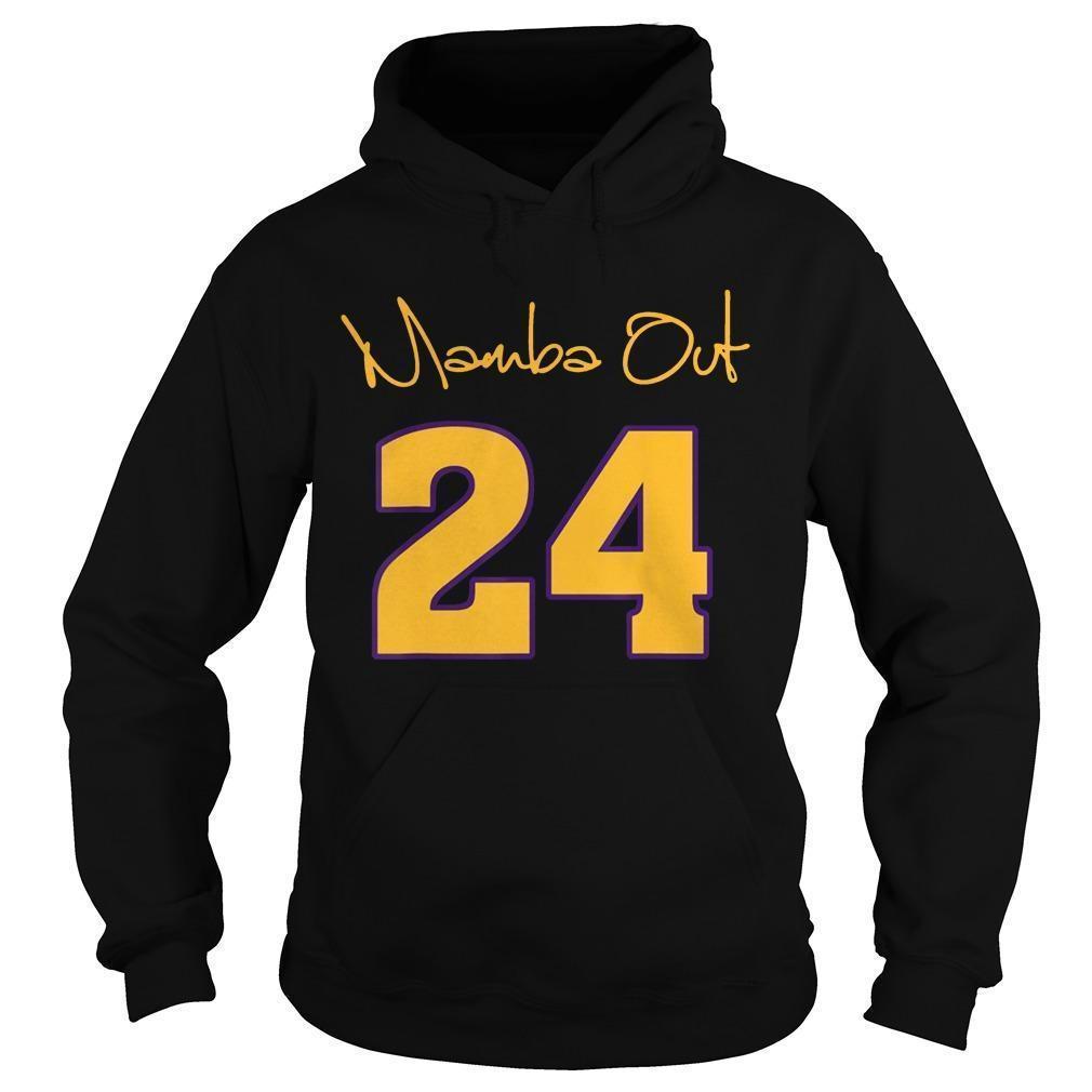 Kobe Bryant Mamba Out Hoodie