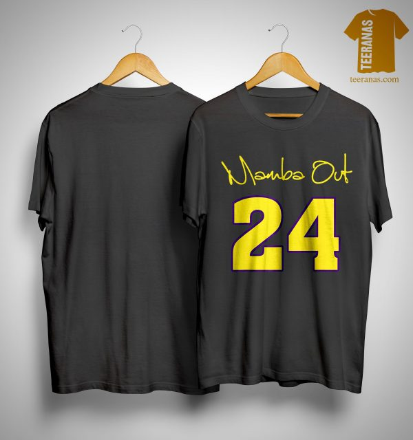 Kobe Bryant Mamba Out Shirt