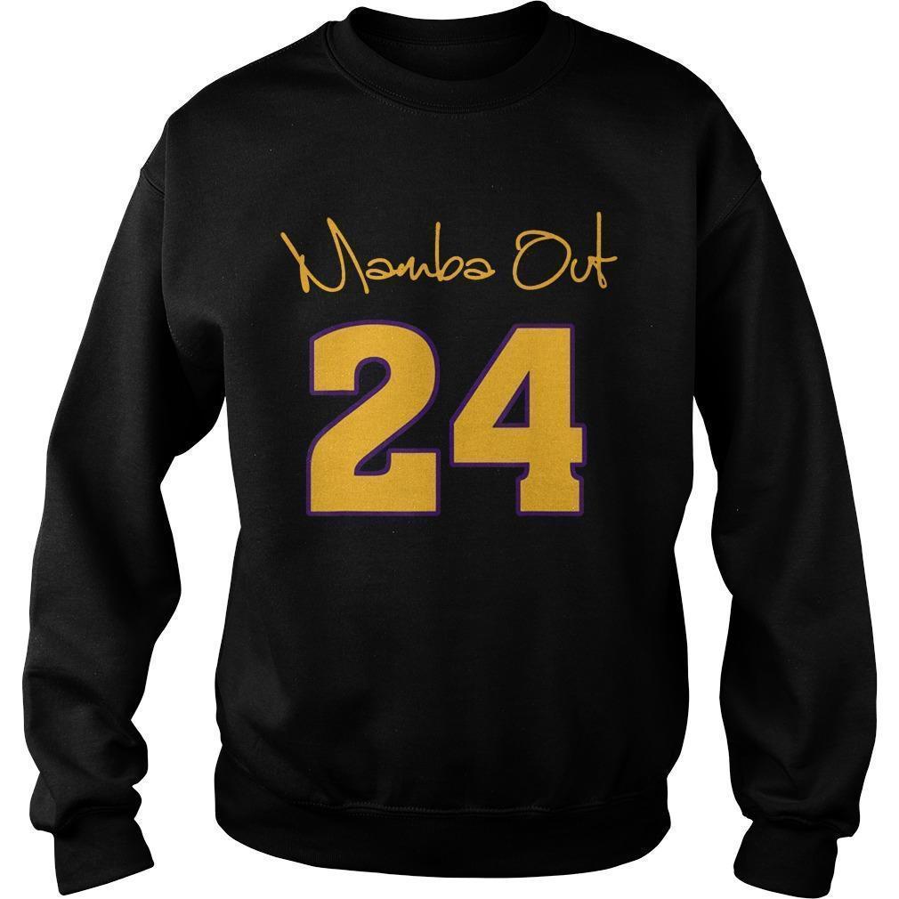 Kobe Bryant Mamba Out Sweater