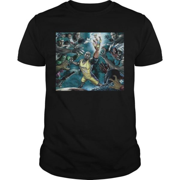 Kobe Bryant The Infinity Gauntlet Shirt