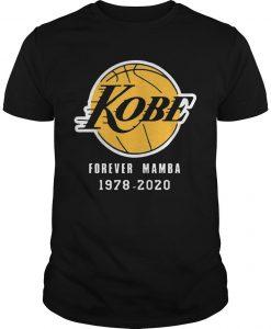 Kobe Forever Mamba 1978 2020 Shirt