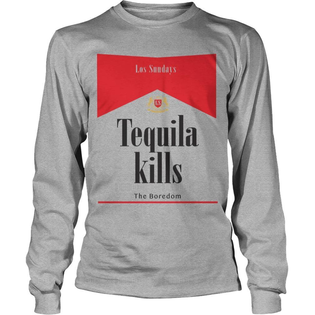 Los Sundays Tequila Kills The Boredom Longsleeve