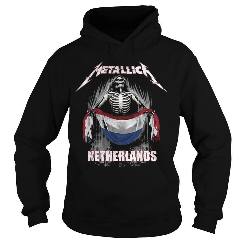 Metallica Netherlands Hoodie