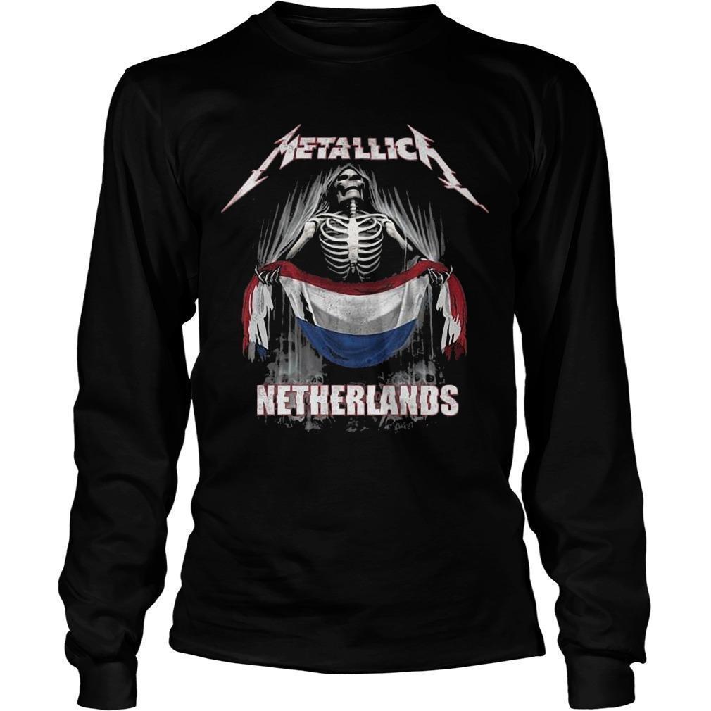 Metallica Netherlands Longsleeve
