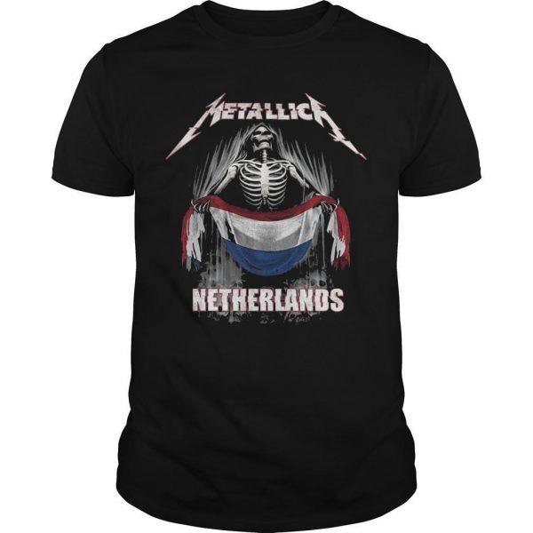 Metallica Netherlands Shirt