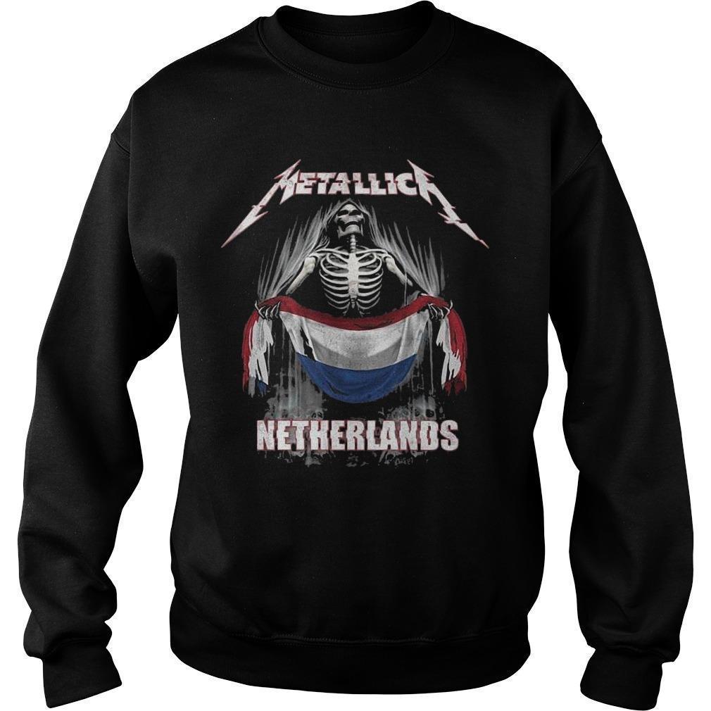 Metallica Netherlands Sweater