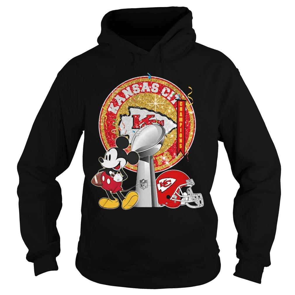 Mickey Kansas City Super Bowl Liv Hoodie