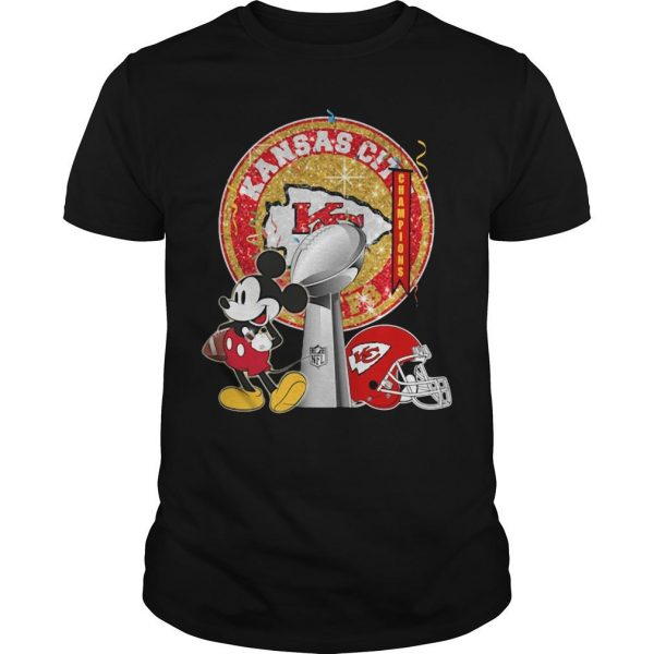 Mickey Kansas City Super Bowl Liv Shirt