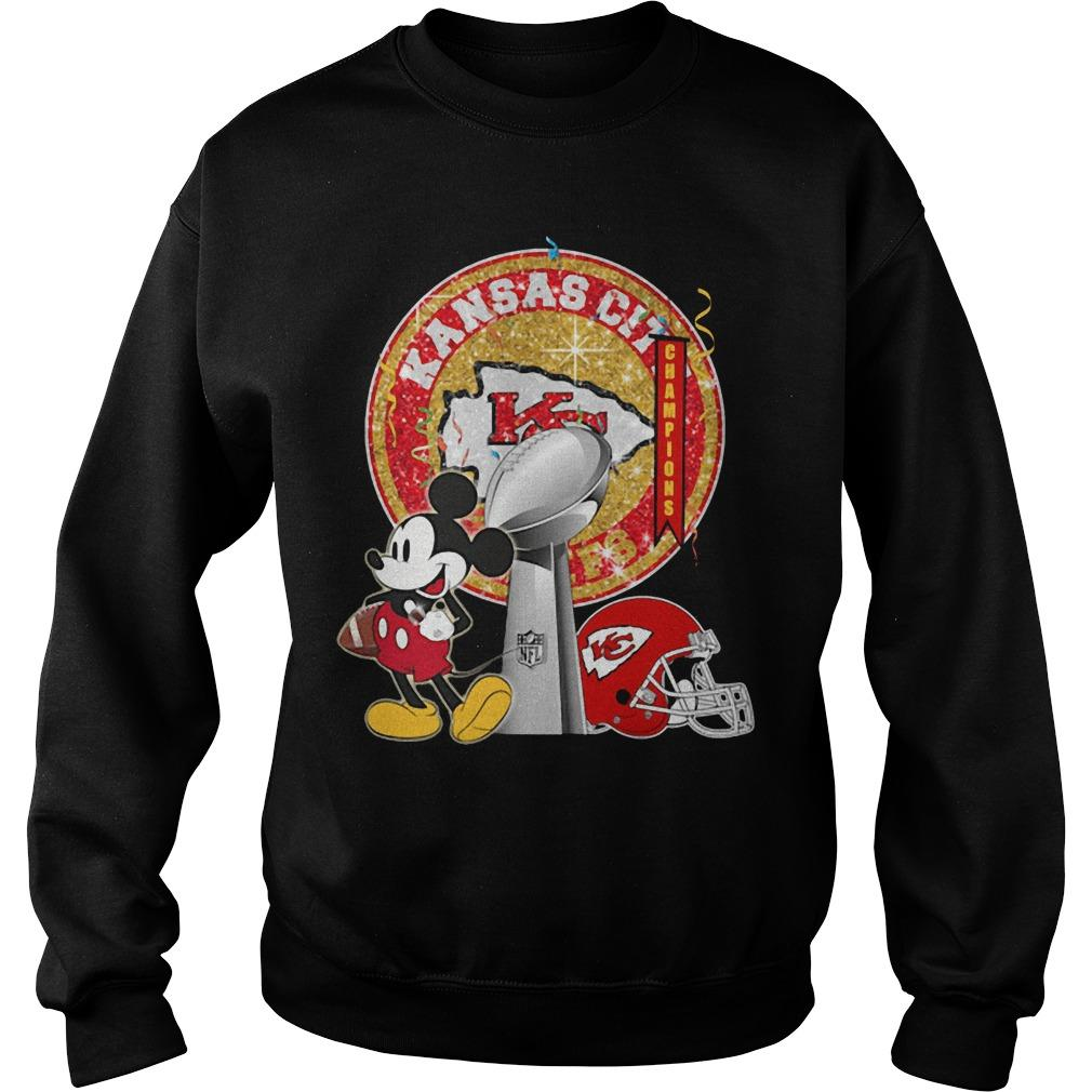Mickey Kansas City Super Bowl Liv Sweater