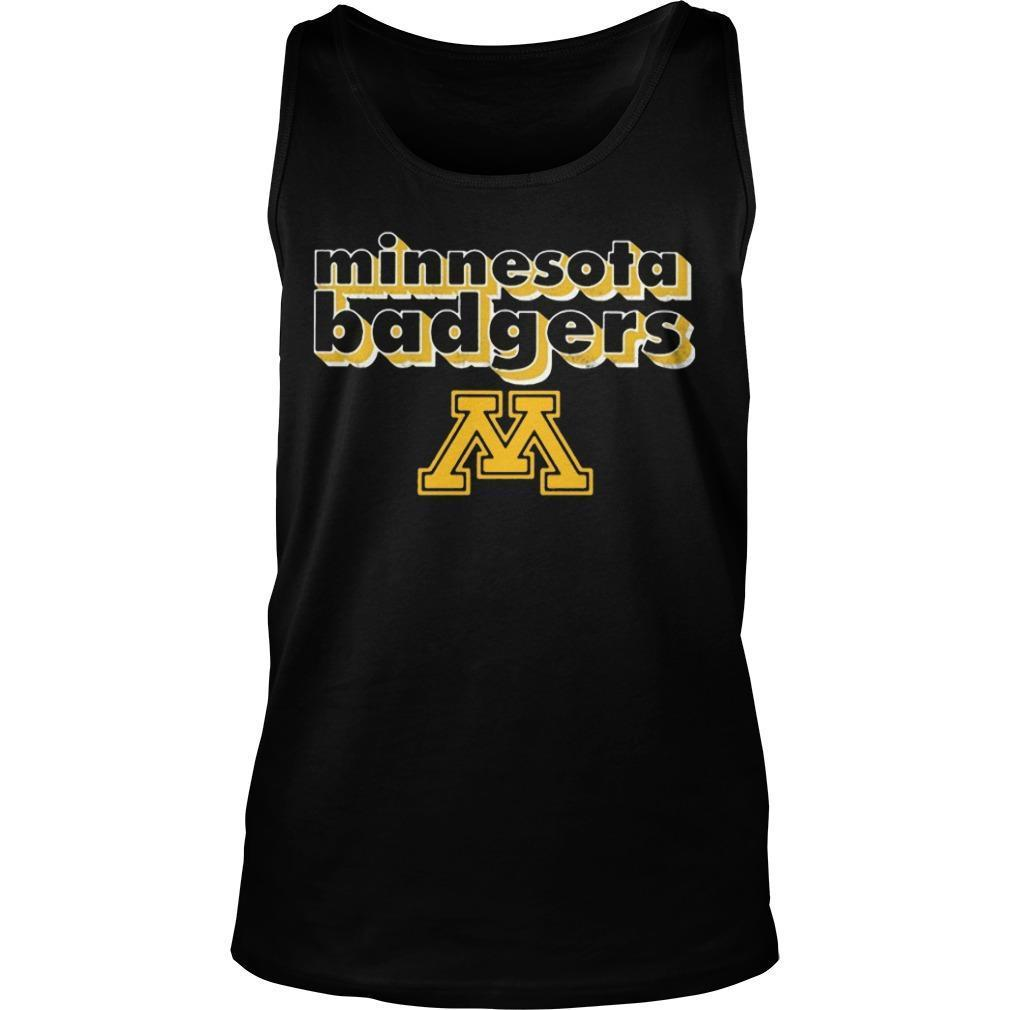Minnesota Badgers Tank Top