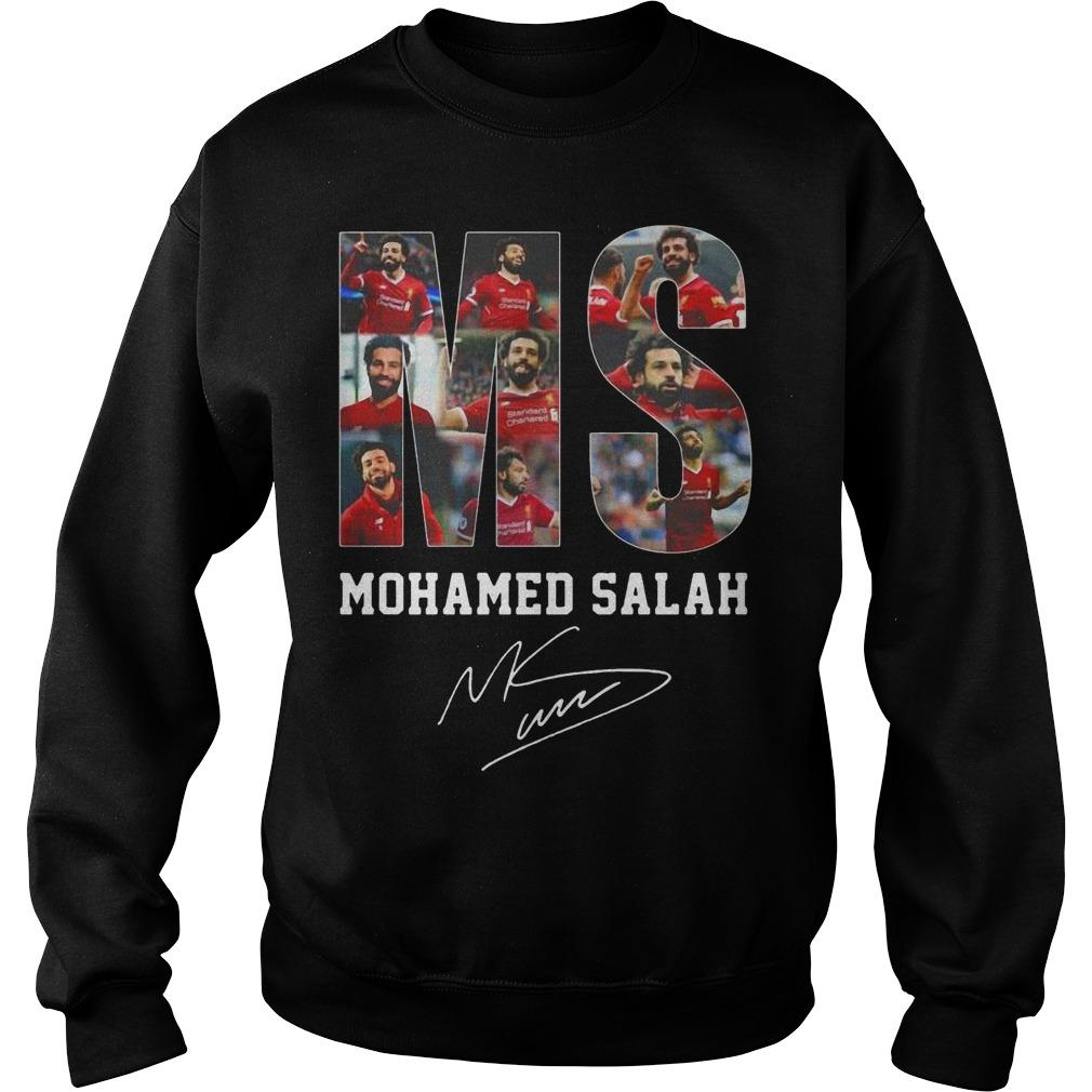 Ms Mohamed Salah Signature Sweater