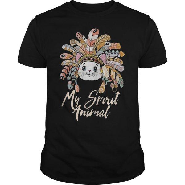 My Spirit Animal Native Cat Shirt