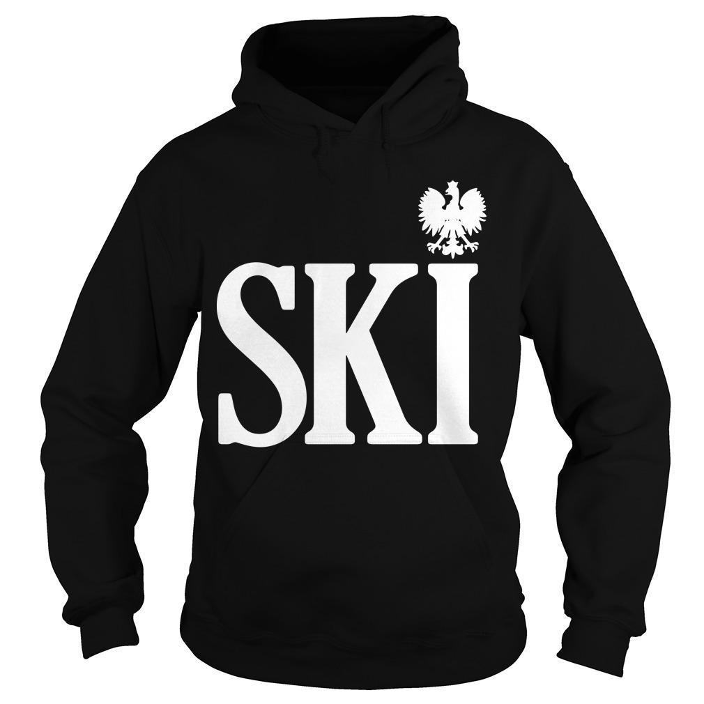 Polish Surnames Ski Hoodie