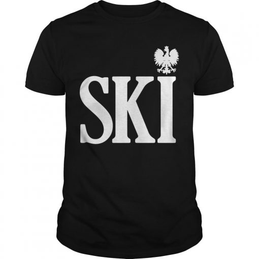 Polish Surnames Ski Shirt