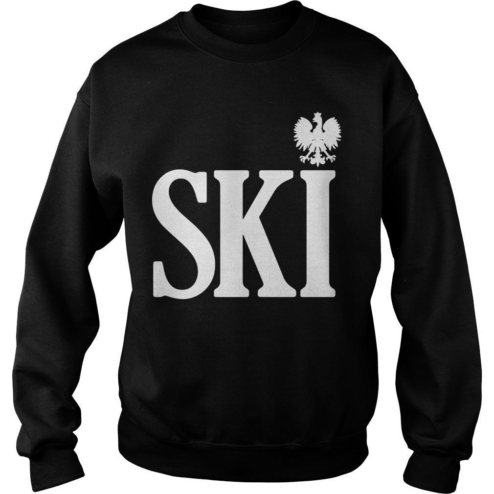 Polish Surnames Ski Sweater