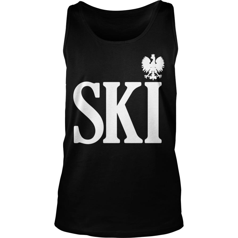 Polish Surnames Ski Tank Top