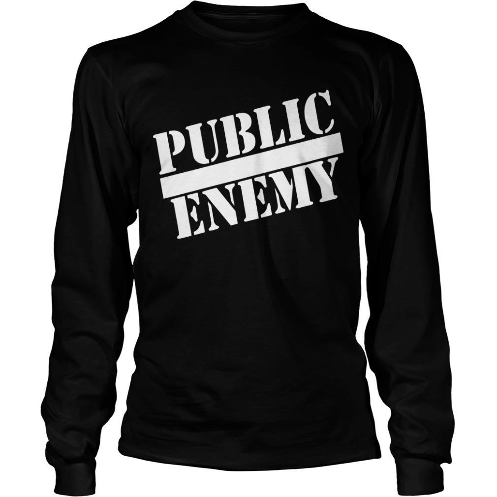 Public Enemy Miley Cyrus T Longsleeve