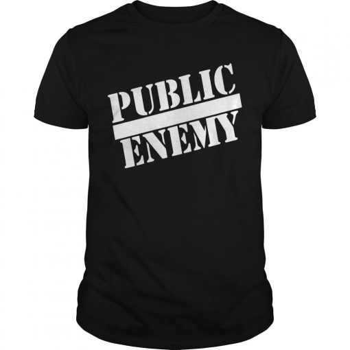 Public Enemy Miley Cyrus T Shirt