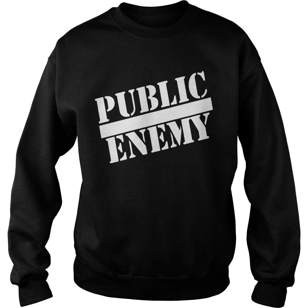 Public Enemy Miley Cyrus T Sweater