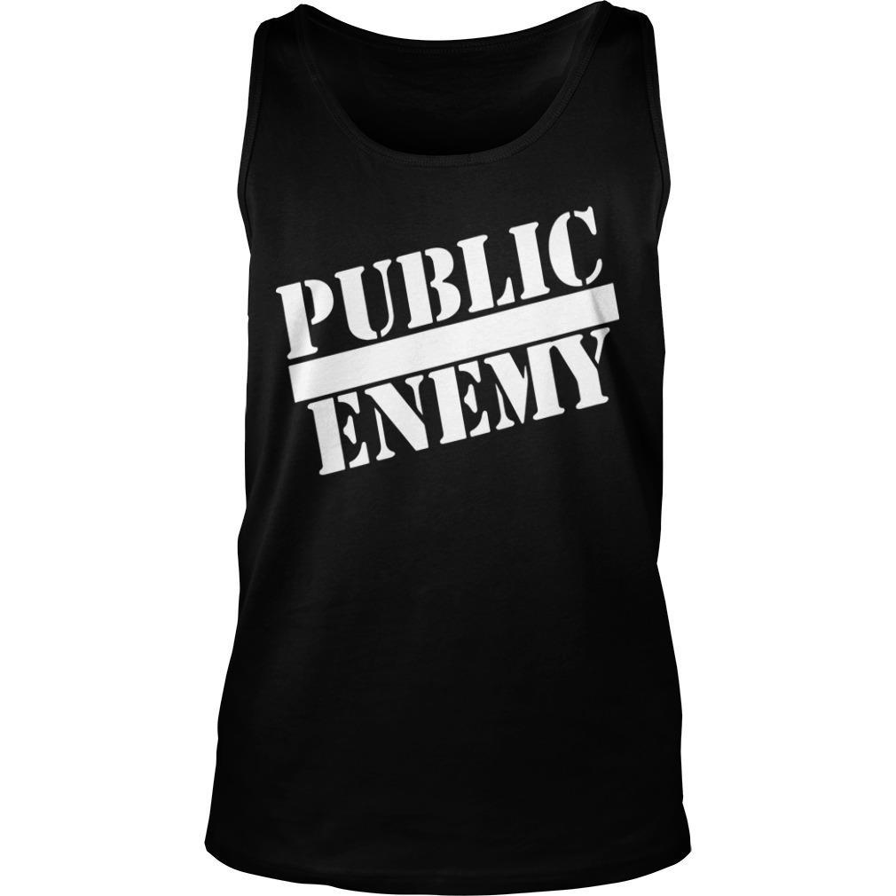 Public Enemy Miley Cyrus T Tank Top