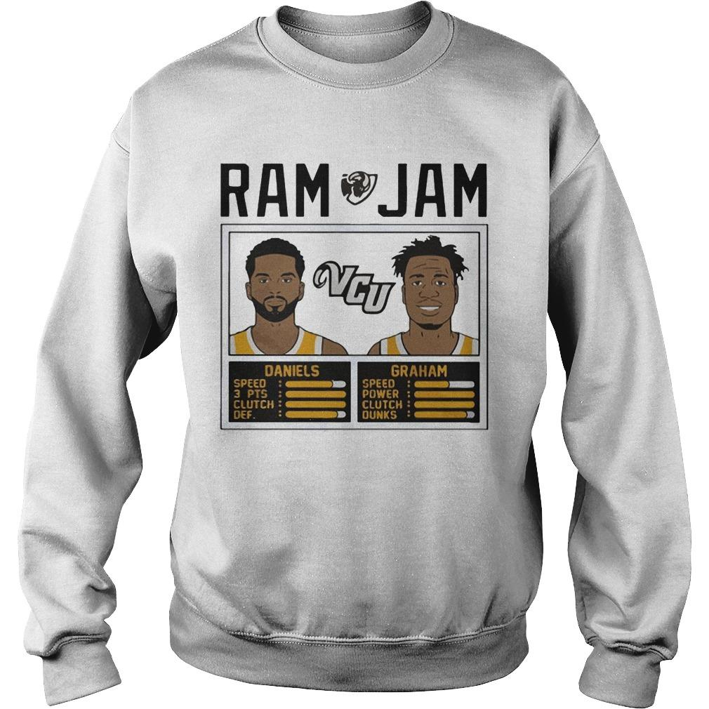 Ram Vcu Jam Daniels Graham Sweater