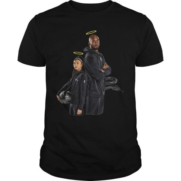 Rip Black Mamba Kobe Bryant And Gigi Bryant Shirt