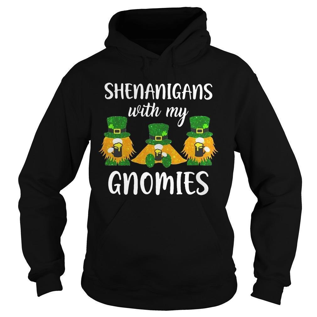 Saint Patrick's Day Shenanigans With My Gnomies Hoodie