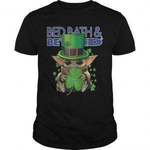 Shamrock St Patricks Day Baby Yoda Bed Bath Beyond Shirt