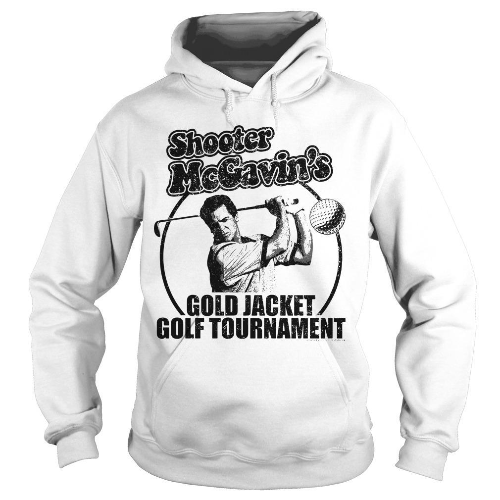 Shooter McGavin's Gold Jacket Golf Tournament Hoodie