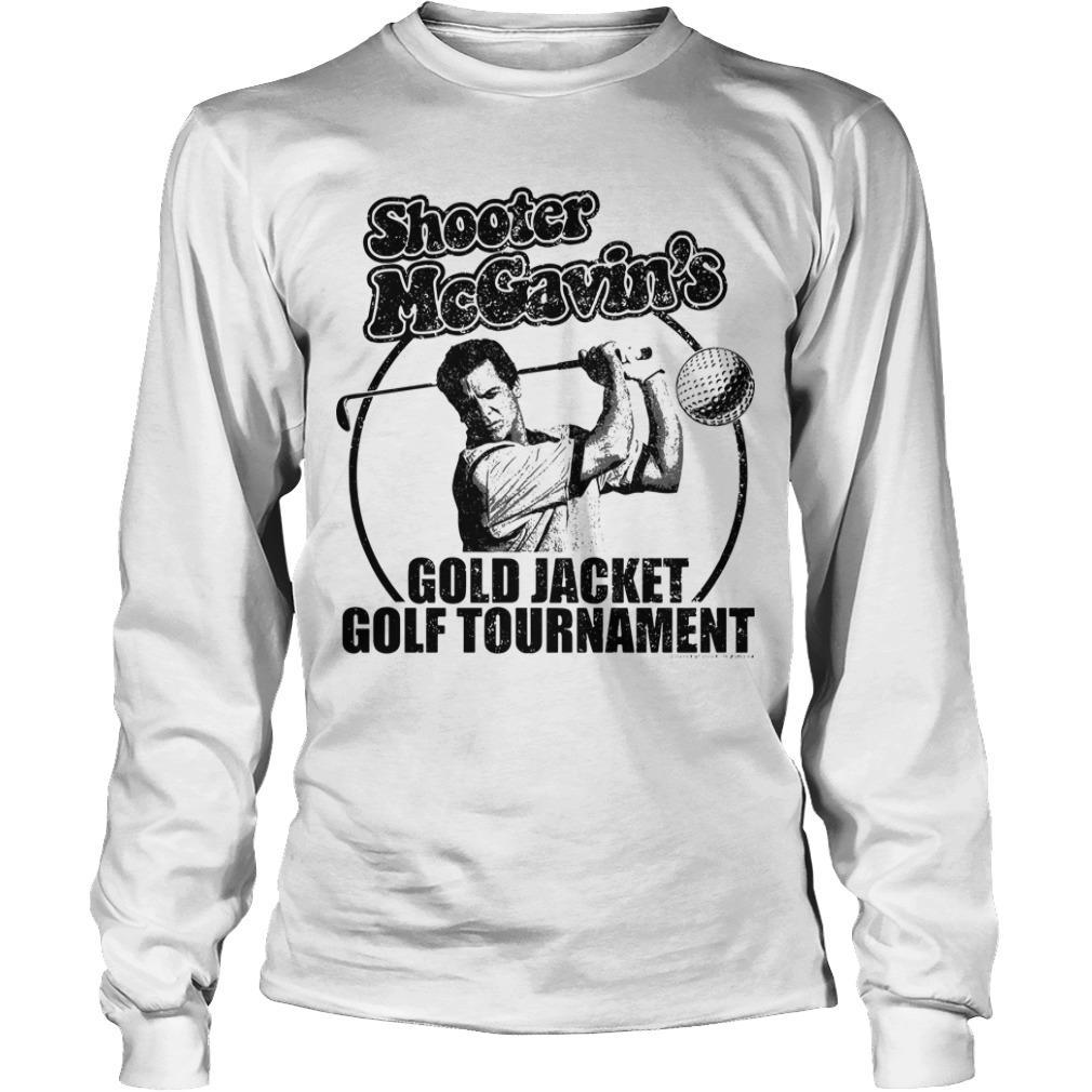 Shooter McGavin's Gold Jacket Golf Tournament Longsleeve