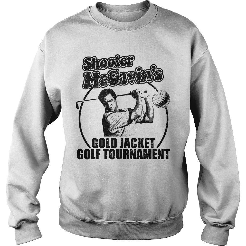 Shooter McGavin's Gold Jacket Golf Tournament Sweater