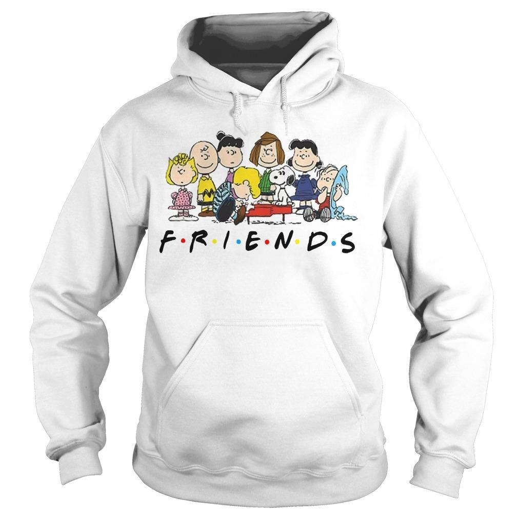 Snoopy And Peanuts Characters Friends Hoodie