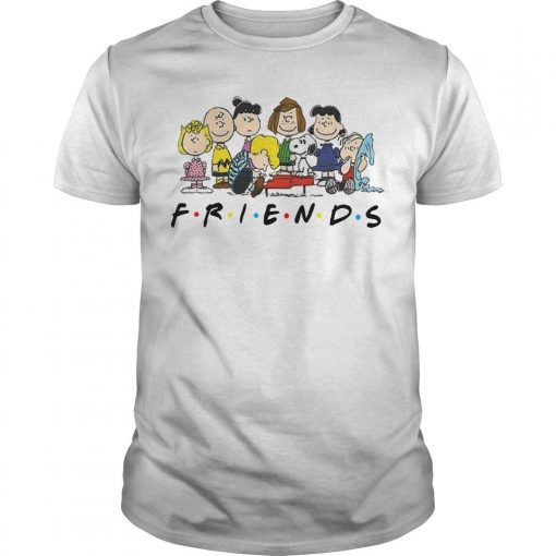 Snoopy And Peanuts Characters Friends Shirt