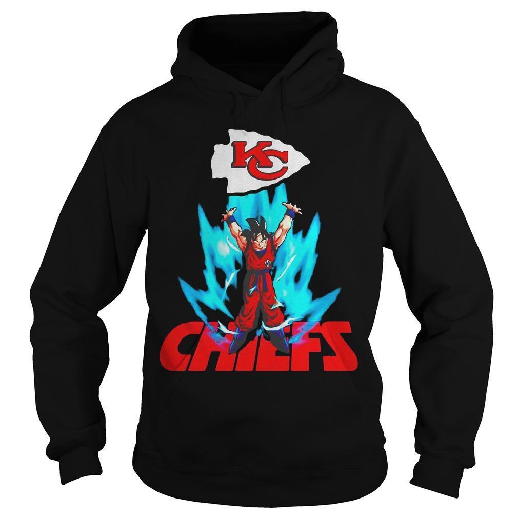 Son Goku Kansas City Chiefs Hoodie