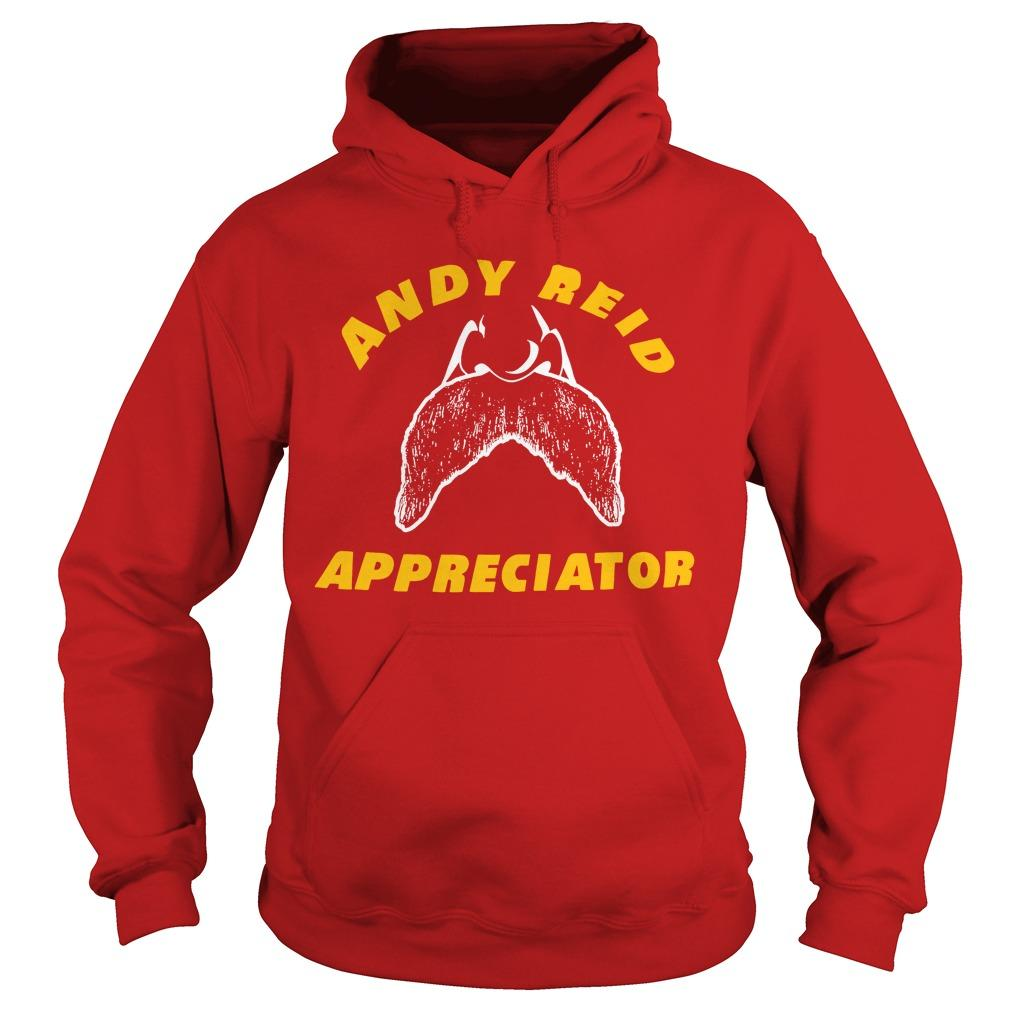 Spike Eskin Andy Reid Appreciator Hoodie