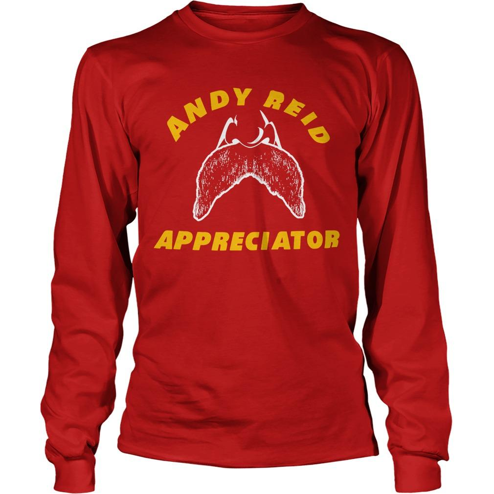 Spike Eskin Andy Reid Appreciator Longsleeve