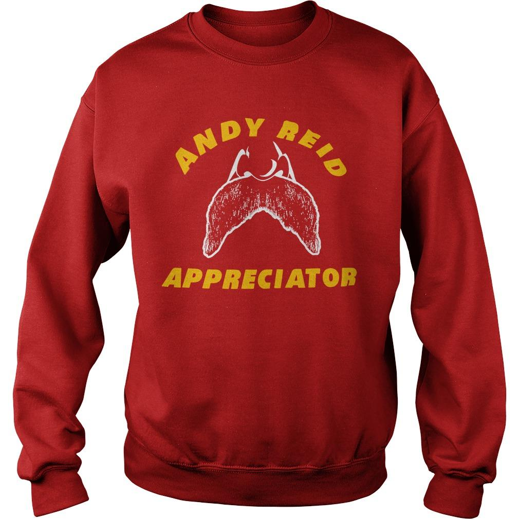 Spike Eskin Andy Reid Appreciator Sweater