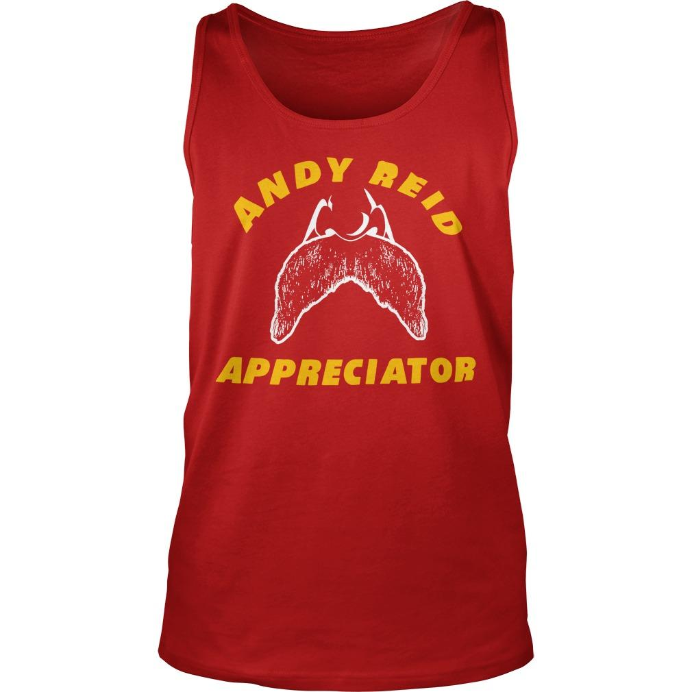 Spike Eskin Andy Reid Appreciator Tank Top