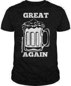 St Patricks' Day Beer Great Again Shirt
