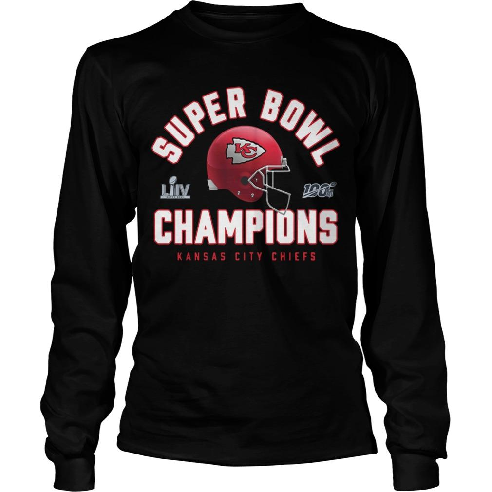 Super Bowl Liv Champions Kansas Chief 2020 Longsleeve
