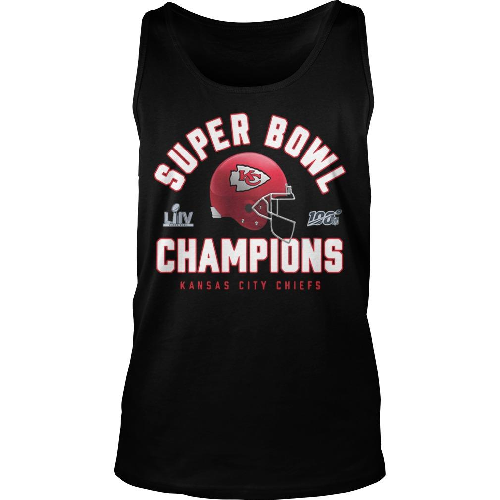 Super Bowl Liv Champions Kansas Chief 2020 Tank Top
