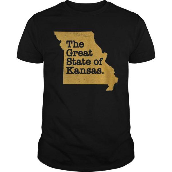 The Great State Of Kansas Shirt