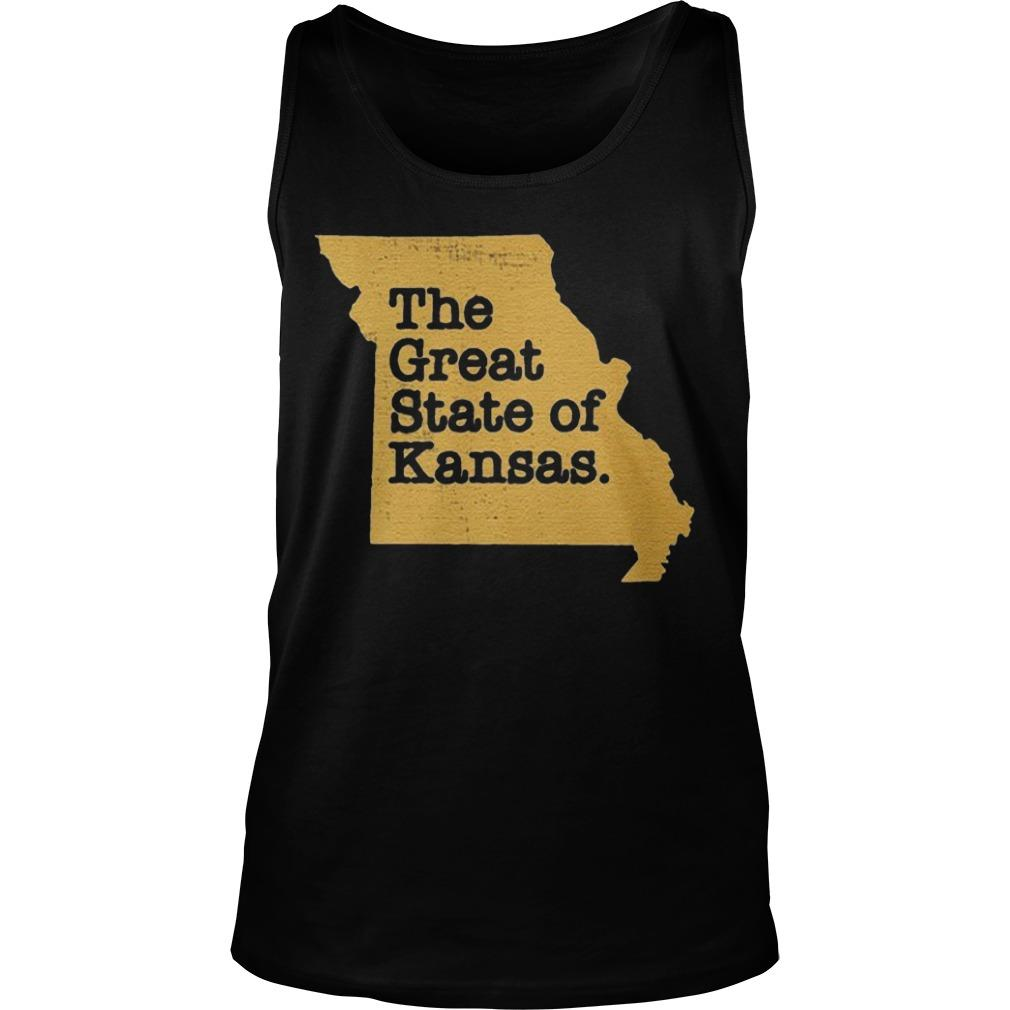 The Great State Of Kansas Tank Top