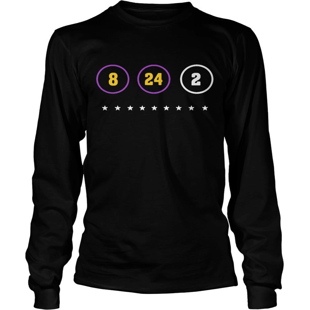 The Warriors Kobe Bryant 8 24 2 Longsleeve