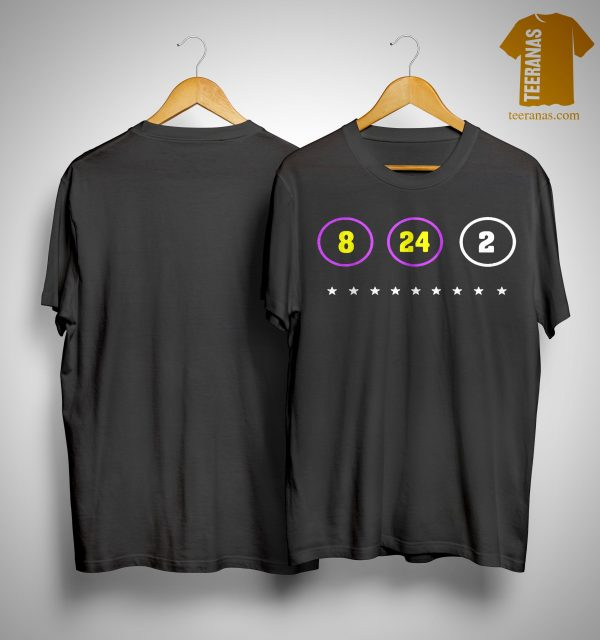 The Warriors Kobe Bryant 8 24 2 Shirt
