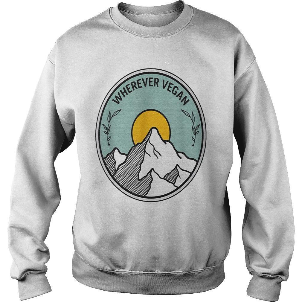 Travel Wherever Vegan Sweater