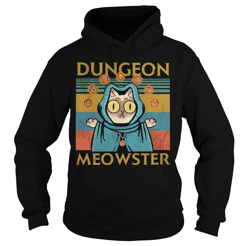 Vintage Game Dungeon Meowster Hoodie