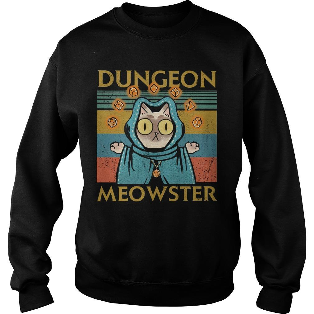 Vintage Game Dungeon Meowster Sweater