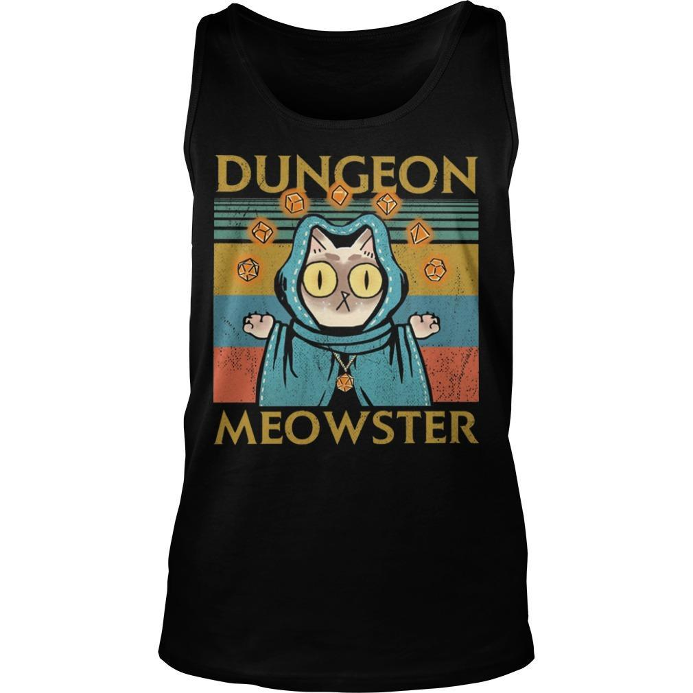 Vintage Game Dungeon Meowster Tank Top