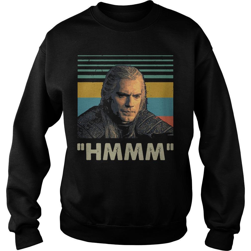 Vintage Geralt Of Rivia Hmmm Sweater